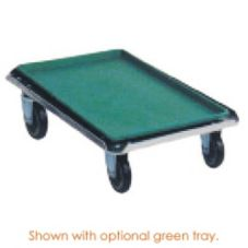 "SPG International 4H1633 Aluminum 19"" x 27"" x 6"" Dough Box Dolly"