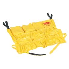 Rubbermaid BRUTE® Yellow Vinyl Caddy Bag for 2632, 2643 Containers