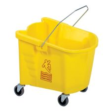 Continental 335-3YW Splash Guard™ Yellow 35 qt Mop Bucket