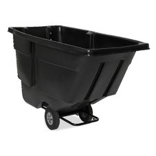 Rubbermaid® FG9T1800BLA Black 1 cu yd Tilt Truck
