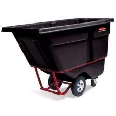 Rubbermaid Black Heavy Duty 1/2 cu yd Tilt Truck
