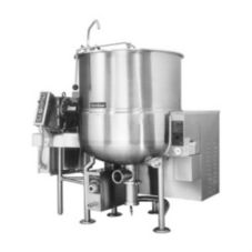 Cleveland Range 100 Gallon Stationary Horizontal Agitator Kettle