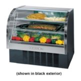 "Beverage-Air Marketeer® 49"" Black Refrigerated Display Case"