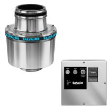 Salvajor 100-CA-12-MRSS-LD 1-HP Disposer with Safety Disconnect