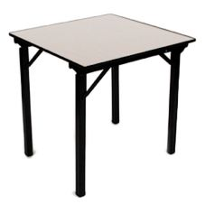 Original Series Foam Top Square Folding Table w/ Crimped Aluminum Edge