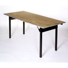Maywood Furniture DPORIG3072 Plywood Top 30 x 72 Folding Banquet Table