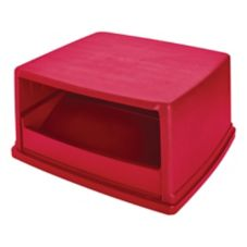 Rubbermaid® FG256X00RED Top w/ Doors for Glutton Container 656901