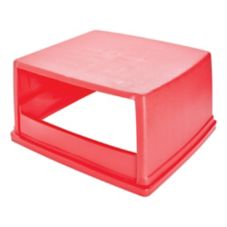 Rubbermaid® FG256V00RED Top w/o Doors for Glutton Container 656901