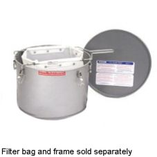 Miroil 35 Lb. Grease Bucket / Filter Pot with Lid