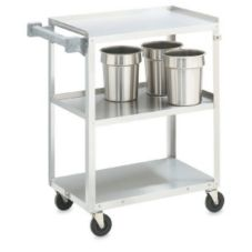 Vollrath® 97120 S/S Medium Duty 3-Shelf Utility Cart