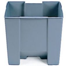 Rubbermaid Gray 19 Gal Rigid Liner for 6146 Step-On Container