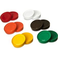 Carlisle® PS304AT00 Store 'n Pour Assorted Lids Pack - 12 / CS