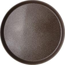 "Carlisle® 1400GR076 Griptite™ 14"" Round Tan Tray"