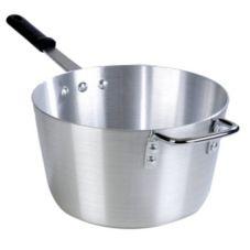 Carlisle® 61710 10 Qt. Aluminum Tapered Sauce Pan