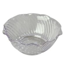 Carlisle® 453407 13 Oz. Clear Tulip Bowl - 24 / CS