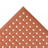 NoTrax® 1002-251 Red 3' x 5' Superflow® Floor Mat
