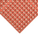 NoTrax® 439-632 Red 3' x 3' Tek-Tough® Floor Mat