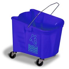 Continental Splash Guard™ Blue 35 qt Mop Bucket