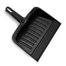 "Rubbermaid® FG200500CHAR Charcoal HD 12"" x 8"" Dustpan"