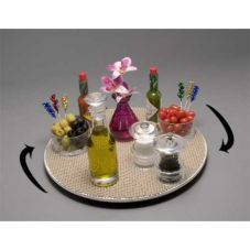"Gourmet Display® 14"" White Lazy Susan Centerpiece"