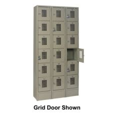 Win-Holt® Six Tier Locker with Three Columns