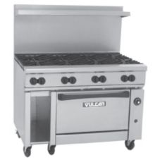 Vulcan Hart 48S-8B Endurance S/S Gas Restaurant Range with 8 Burners