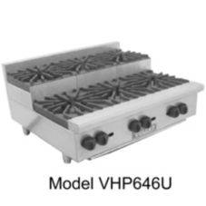 Vulcan Hart VHP848U Achiever Gas Hotplate with (8) 30,000 BTU Burners