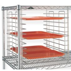 Metro® 15SNC 14-5/8 Chrome Super Erecta Tray Slide