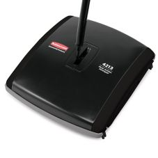 "Rubbermaid Black 44"" Dual Action Sweeper"