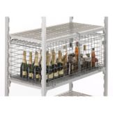 "Cambro CSSC2448 Camshelving 25-1/4"" x 42-1/2"" x 18"" Security Cage"