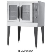 Vulcan Hart VC6GC S/S One Deck Gas Bakery Depth Convection Oven