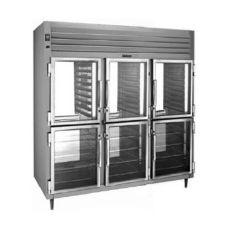 Traulsen RHT332NPUT-HHG R-Series 3-Section Pass-Thru Refrigerator