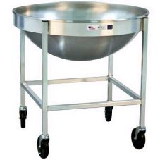 "New Age Industrial 98716 Aluminum 30 x 30 x 30"" Mixing Bowl Dolly"