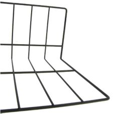 "Elite Global Solutions W4624-B 4"" x 6"" x 24"" Black Wire Divider"