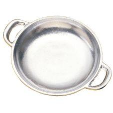 Bon Chef 5000 Pewter Aluminum Round 9 oz Au Gratin Dish - 6 / CS