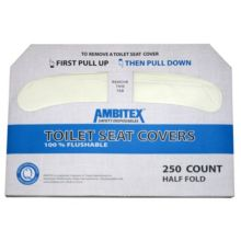 Tradex TSC5000 Ambitex Disposable Toilet Cover - 5000 / CS