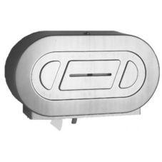 Bobrick B-2892 Stainless Twin Jumbo Roll Toilet Tissue Dispenser