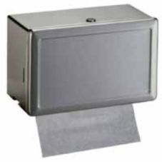 "Bobrick B-263 S/S 12.13"" x 7.25"" Paper Towel Dispenser"