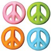 Lucks™ 14302 Dec-Ons® Peace Sign Assortment - 80 / BX