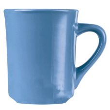 World Tableware TM-8-LB Montego Bay Blue 8.5 oz Tiara Mug - 36 / CS