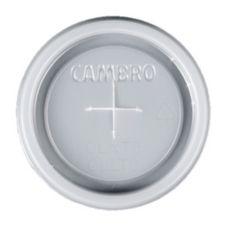 Cambro CLNT5190 Translucent NT5 Tumbler Lid w/ Straw Slot - 1500 / CS