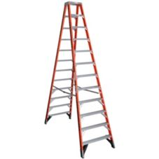Industrial Products T7412 Werner 12' Fiberglass 2-Way Stepladder