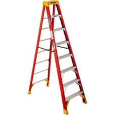Werner® 6208 Fiberglass 8 Ft. Step Ladder