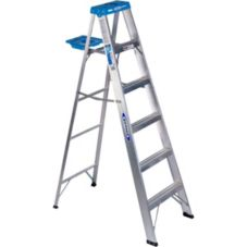Aluminum Step Ladder, 6'