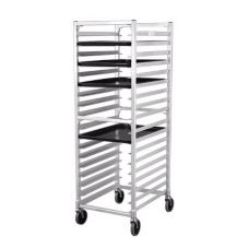New Age Industrial 95864 Alum Refrigerator / Proofer Rack w/ 18 Slides