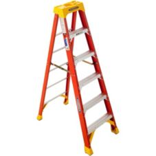 Werner® 6206 Fiberglass 6 Ft. Step Ladder