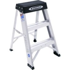 Werner® 150B Aluminum 2 Ft. Step Ladder