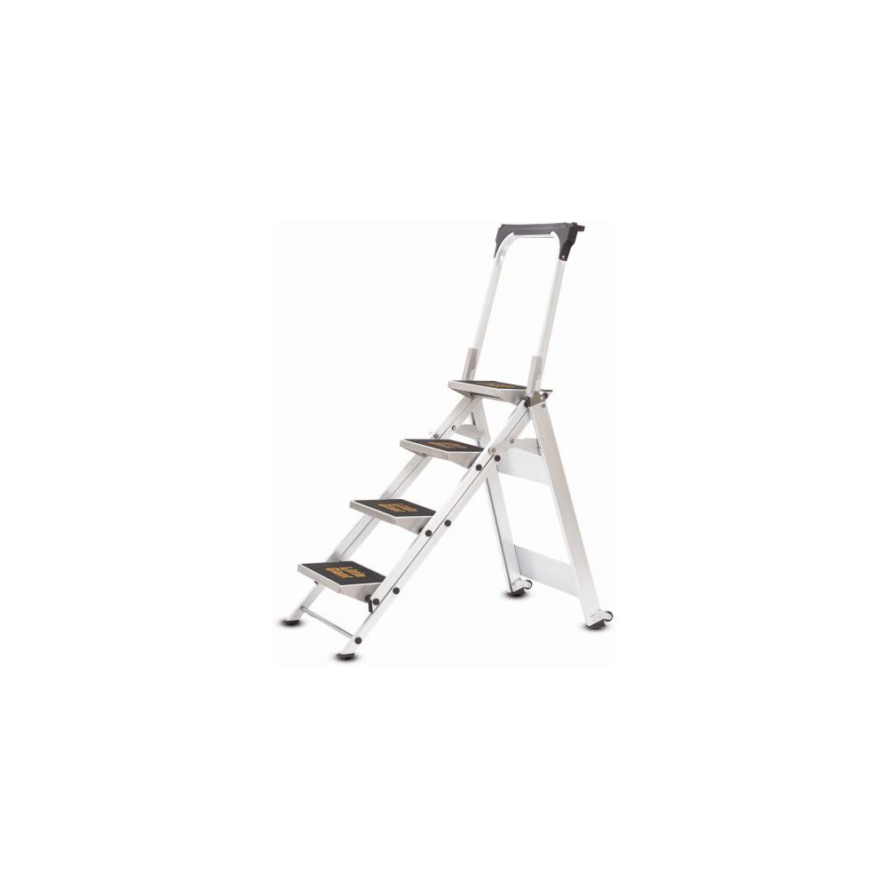 Little Giant 10410B Four Step Folding Ladder With Handrails