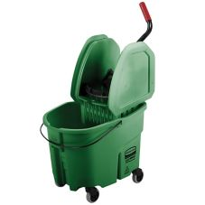 Rubbermaid® Green Mop, Bucket and Wringer Combo
