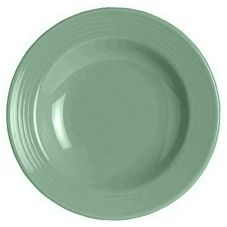 Steelite B074P312 Anfora Palm Leaf 8 Oz. Soup Plate / Bowl - 24 / CS